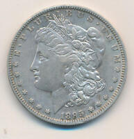 1895 O MORGAN SILVER DOLLAR. RAW