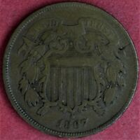 1867 TWO CENT F