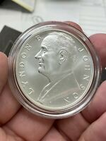 2015 LYNDON B JOHNSON UNITED STATES MINT COIN AND CHRONICLES SET COA & OGP