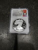 2020 W SILVER EAGLE V75 PRIVY MARK PF 70 COIN EARLY RELEASES
