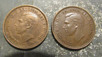 1942 1946 GREAT BRITAIN HALF PENNY