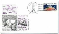 1759 VIKING MISSIONS TO MARS STAMP FIRST DAY OF ISSUE    MAR