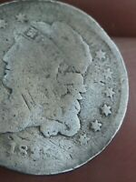 1835 CAPPED BUST HALF DIME- SMALL DATE, LARGE 5C