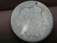 1898 SILVER BARBER DIME- HEAVILY WORN, LOWBALL, PO1 CANDIDATE?