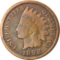 [866875] COIN, UNITED STATES, INDIAN HEAD CENT, CENT, 1898, U.S. MINT