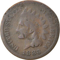 [866873] COIN, UNITED STATES, INDIAN HEAD CENT, CENT, 1883, U.S. MINT