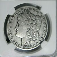 1893-O M0RGAN $1 NGC VF-20 CHOICE KEY DATE COIN WITH LOW MINTAGE @ 300,000 COINS