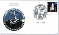 SPACE SHUTTLE STAMP FIRST DAY OF ISSUE 1/12/2000 SPACE SHUTT