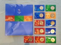 AUTHENTIC 2000 SYDNEY OLYMPIC $5 COIN COLLECTION [SET OF 11