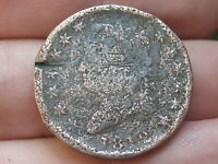 1812 CLASSIC HEAD LARGE CENT PENNY- SLIGHTLY ROLLED RIMS