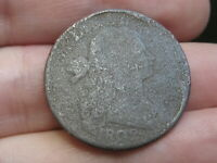 1802 DRAPED BUST LARGE CENT PENNY- METAL DETECTOR FIND?