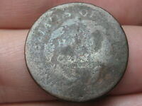 1809 CAPPED BUST HALF CENT- ABOUT GOOD DETAILS
