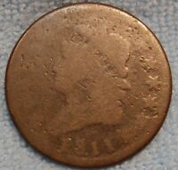 1811 CLASSIC HEAD LARGE CENT,  VINTAGE LOW PRICED KEY DATE COIN