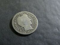 1913 BARBER DIME - 90 SILVER - SHIPS FREE - ACTUAL COIN SHOWN - C2