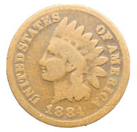 1884 G INDIAN HEAD CENT PENNY EXACT COIN SHIPS FREE  8530