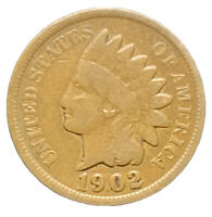 1902 VG INDIAN HEAD CENT PENNY EXACT COIN SHIPS FREE 8531