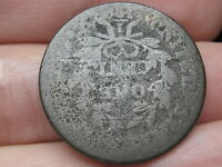 1807 DRAPED BUST LARGE CENT PENNY- ROTATED REVERSE DIE MINT ERROR
