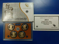2013 S PRESIDENTIAL DOLLAR PROOF SET WITH BOX OR COA OGP