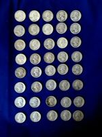 UNITED STATES QUARTERS ROLL OF 40 90  SILVER MIXED DATES