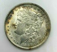 1887-O MORGAN SILVER DOLLAR NEW ORLEANS MINT GREAT DETAILS - TONING C639