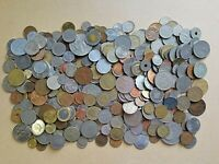 WORLD FOREIGN COINS LOT MIX 4  POUNDS LBS W01