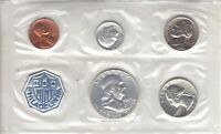 1963 PROOF SET    US MINT SILVER COINS    IN ORIGINAL GOVERN
