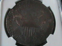 1801 NGC VF DETAILS DRAPED BUST SILVER DOLLAR  LOW MINTAGE