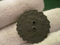 1829 LARGE CARVED EDGES PIE CUTTER