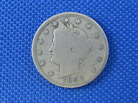 1893 U.S 5 CENT LIBERTY NICKEL COIN