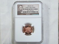 2014 S PROOF LINCOLN SHIELD CENT/PENNY   E. R.   NGC PF 70 RED ULTRA CAMEO 022