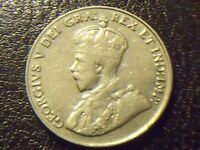 1932 5C CANADA 5 CENTS   GREAT COIN