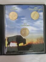 NATIVE AMERICAN COIN COLLECTION 2000 2009 AND 2010 WITH COA