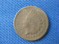 1864 INDIAN HEAD CENT PENNY COIN