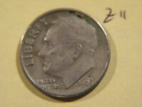 1969 D AMERICAN DIME 10C TEN CENTS COIN  USA