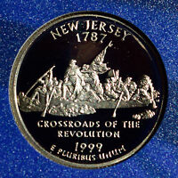 1999 S NEW JERSEY STATE QUARTER PROOFS | ONE GEM PROOF COIN
