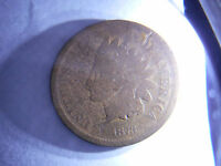 A  DATE 1873 INDIAN HEAD PENNY OPEN 3 PLEASE SEE PICS