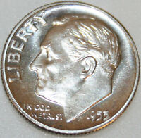 1953 P ROOSEVELT DIME SILVER PROOF [SN03]