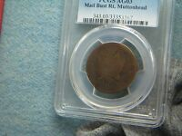 1787 CONNECTICUT MUTTONHEAD VARIETY PCGS JIM REHMUS COLLECTION 60