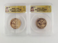 2009 P&D NATIVE AMERICAN DOLLAR COIN   ANACS MS67
