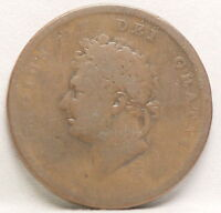 GREAT BIRTIAN 18     3 YEAR SERIES 1825  1826  1827 PENNY GOOD           BGR
