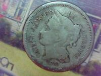 1868 THREE CENT NICKEL COIN YOU GRADE