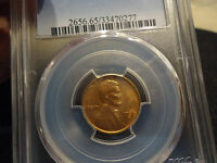 1936 S 1C RD LINCOLN CENT PCGSMS65RD