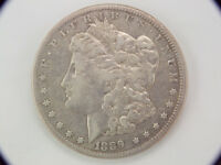 1889 CC MORGAN SILVER DOLLAR