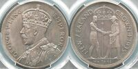 NEW ZEALAND 1935 WAITANGI CROWN   PCGS PR65