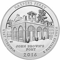 2016   ATB 5OZ SILVER HARPERS FERRY NATIONAL PARK