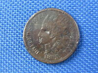 1865 INDIAN HEAD CENT PENNY COIN
