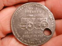 OLD TOKEN OLD PIONEER WAGON OF THE WEST CO.   PETER SCHUTTLER   1843