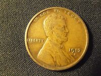 1913 S LINCOLN CENT - EXTRA FINE, 13SEF