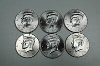 2012 2013 2014  P & D KENNEDY HALF DOLLAR UNCIRCULATED  SET FROM MINT ROLLS