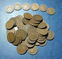 LOT 70 1890S 1900S ASSORTED INDIAN HEAD CENTS GOOD AND BETTER C3